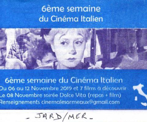 Semaine du Cinéma à Jard sur Mer