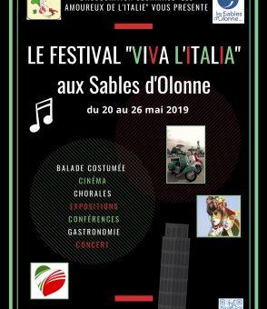 Programmation du festival italien des Sables d'Olonne