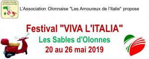 Programme du 24, 25 et 26 mai 2019